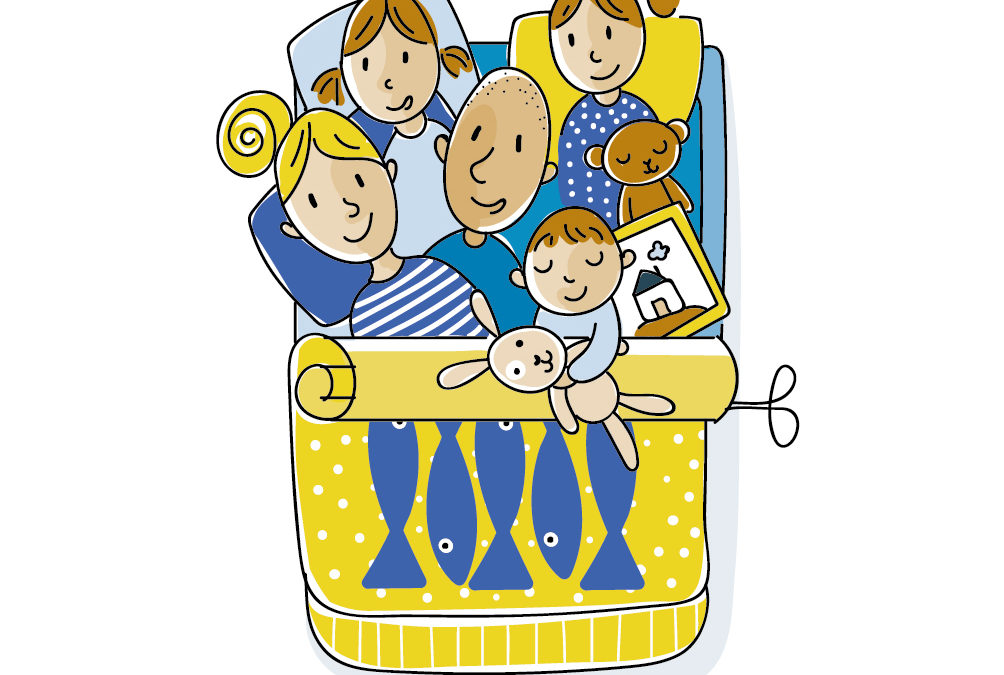 Familien-Illustration